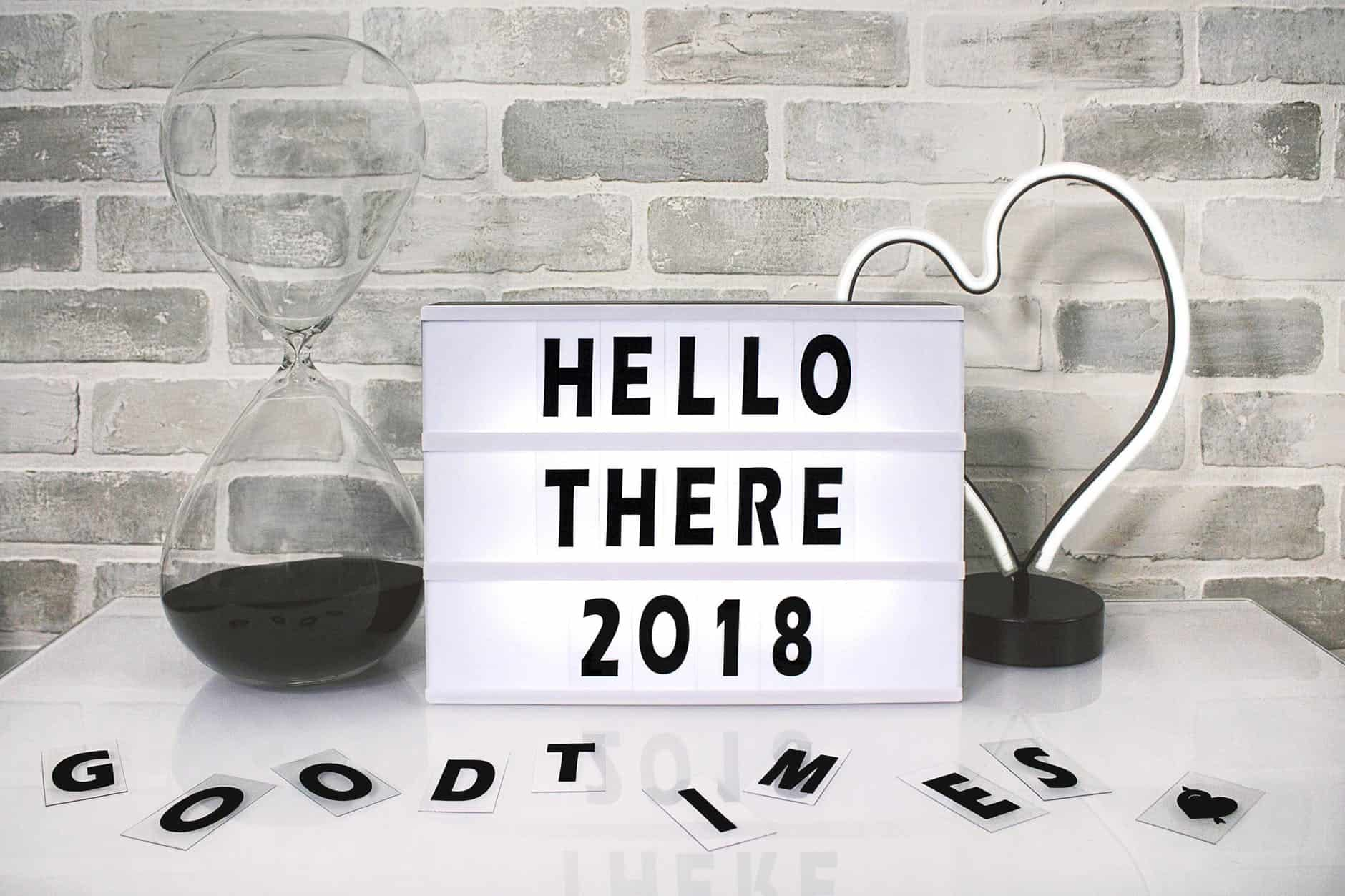 2018 Resolutions – 12 Projects